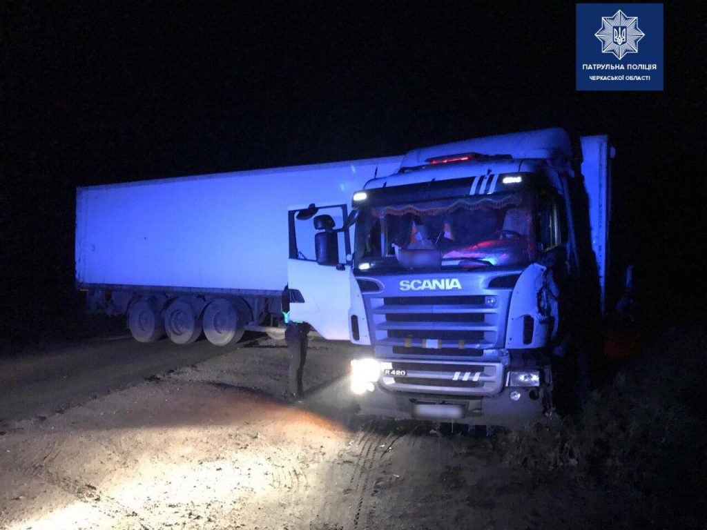 За п'яним водієм вантажівки на Уманщині влаштували погоню (ФОТО)