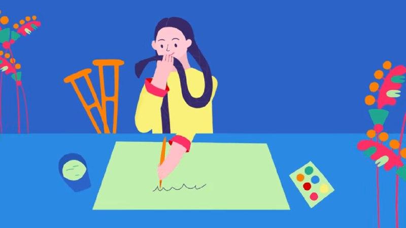 Шоумен із Умані озвучив мультфільм про відому українську художницю (ВІДЕО)