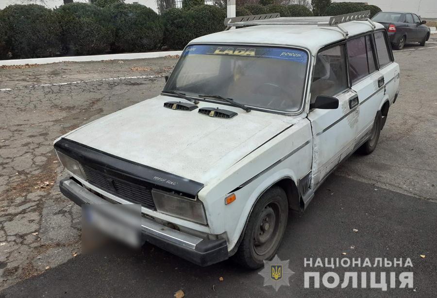 В Умані після застілля чоловік вкрав автомобіль свого товариша (ФОТО)