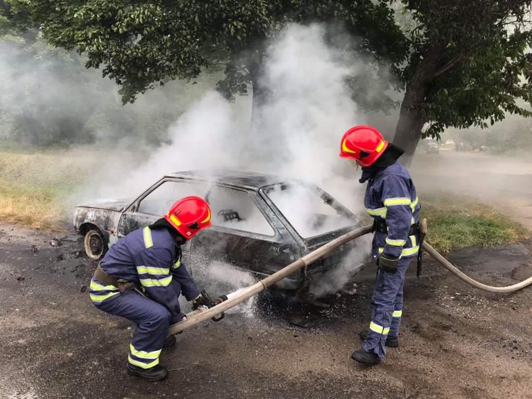 За минулу добу на Черкащині тричі горіли автомобілі
