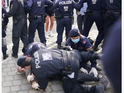 австрія мітинги