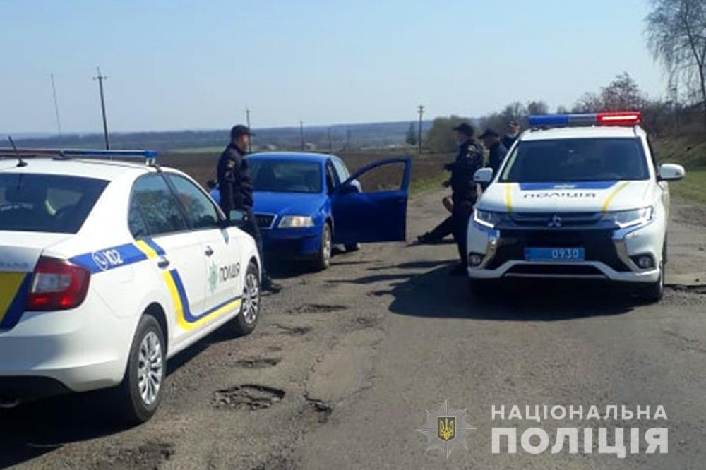 Намагався втекти при затриманні: на Черкащині спіймали крадія автомобіля (ФОТО)