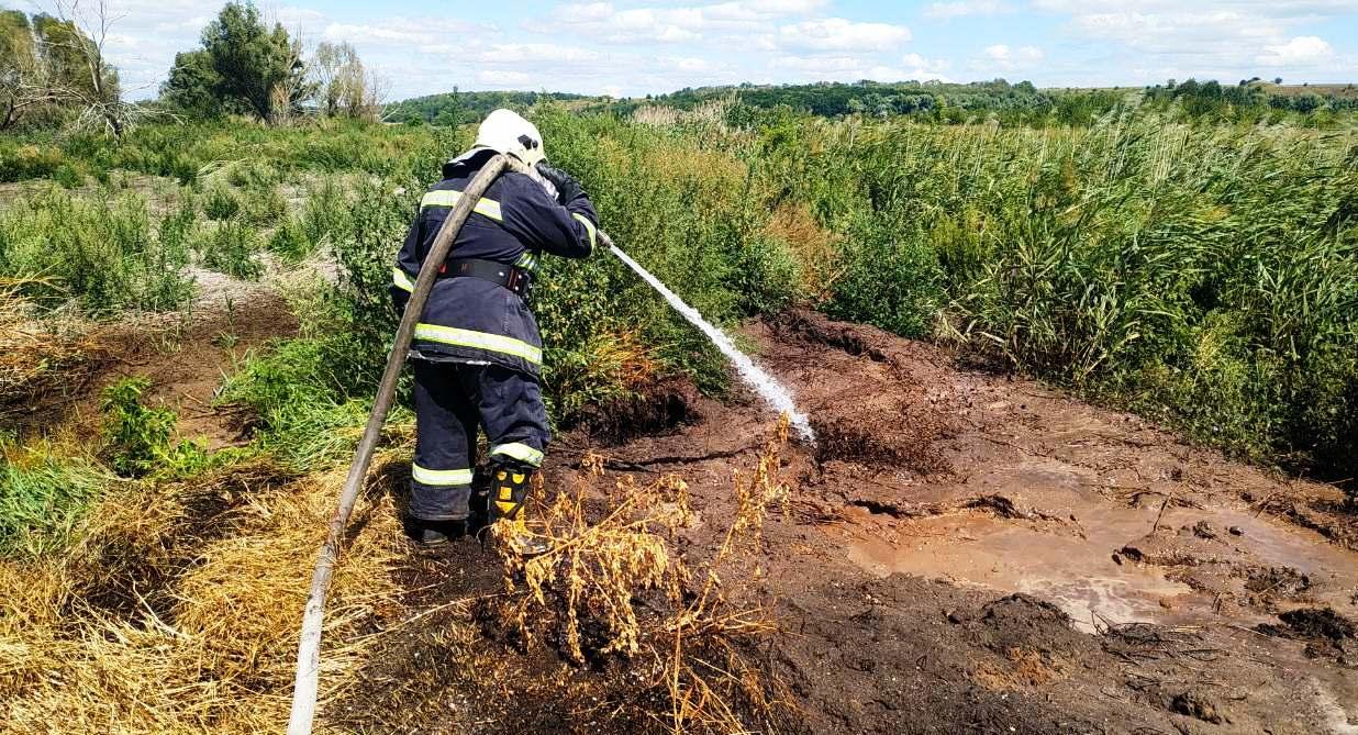 Безпілотники виявили тління торф'яників на Черкащині