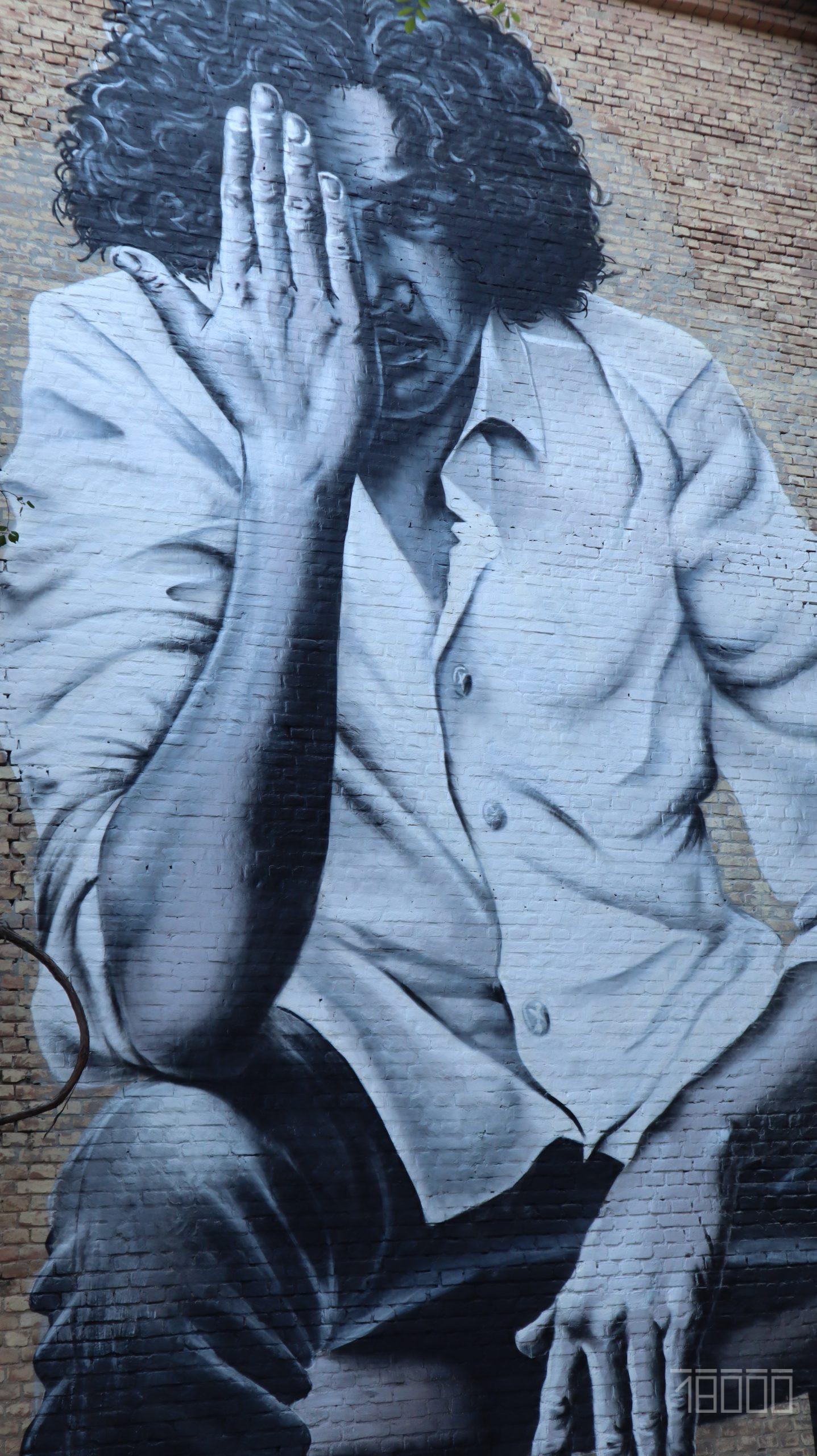 У Черкасах презентували мурал із зображенням Андрія Кузьменка (ФОТО, ВІДЕО)