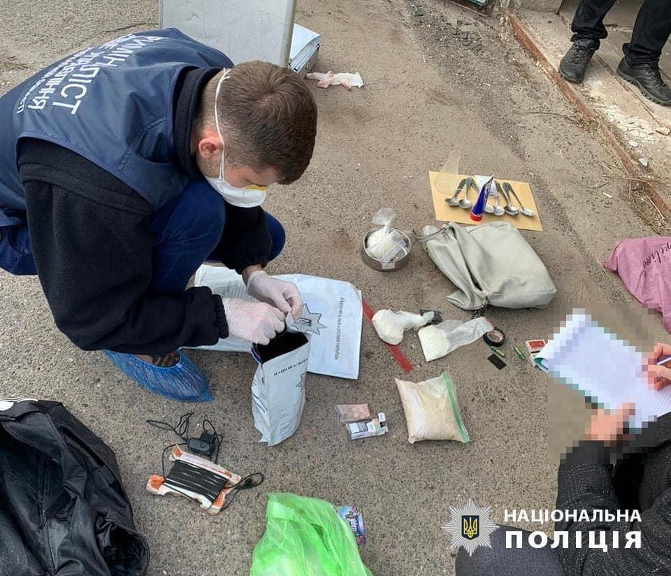 «Нацкорпусівці» допомогли поліції затримати наркоторговців