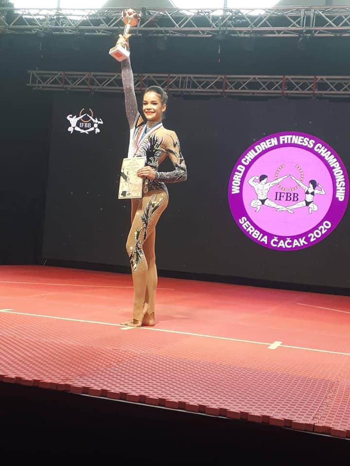 Черкащани привезли нагороди з Чемпіонату світу з дитячого фітнесу (ФОТО)