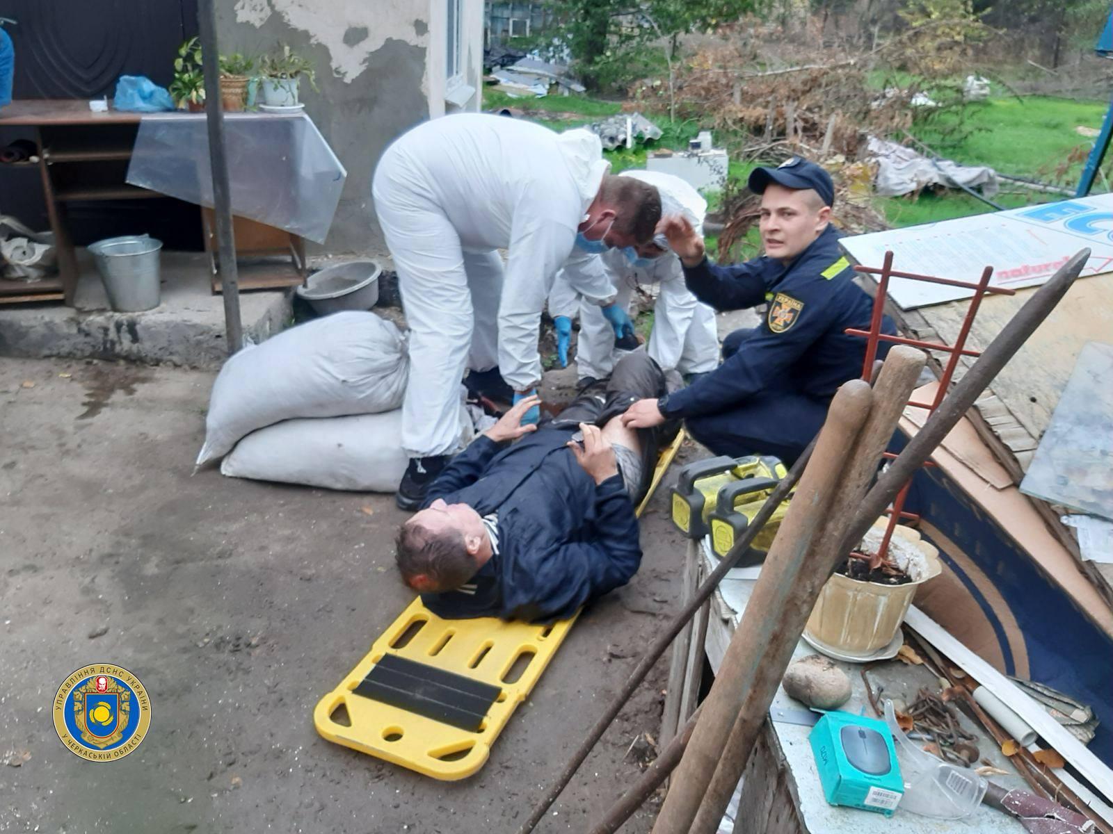 На Черкащині чоловік упав на дно колодязя