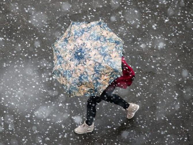 Циклон принесе на Черкащину дощ та мокрий сніг