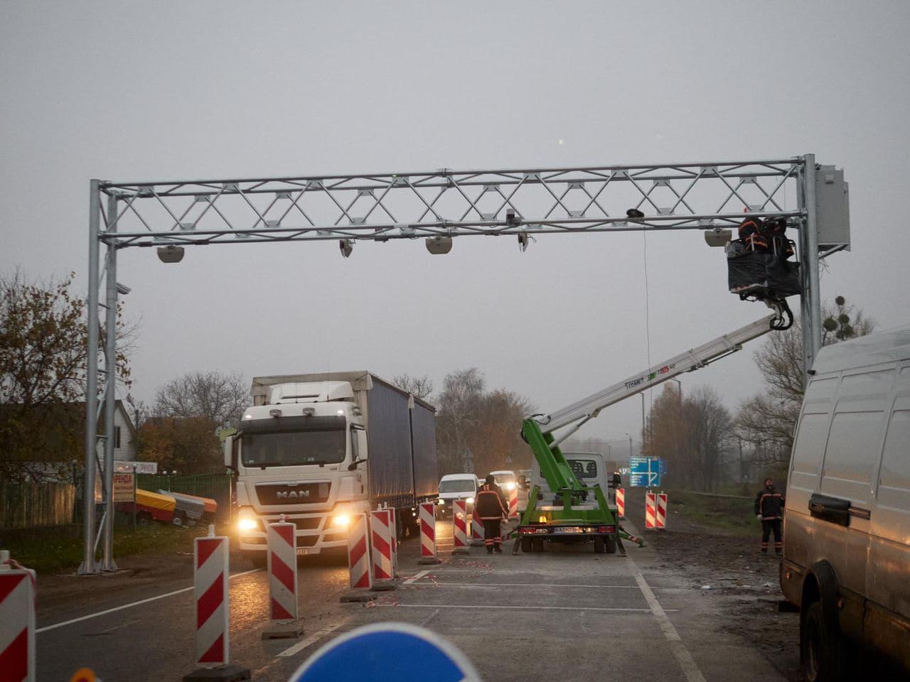 На Черкащині облаштовують чотири пункти зважування автомобілів у русі