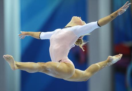 Черкаські гімнастки вибороли шість медалей всеукраїнського турніру