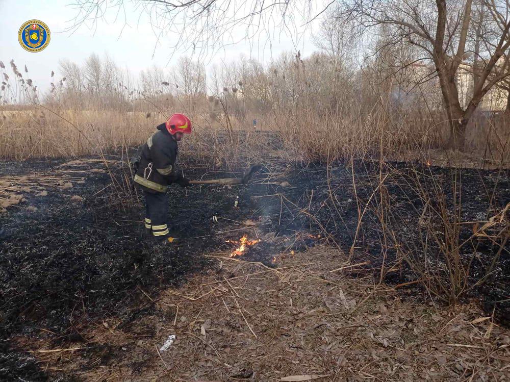За добу 13 пожеж: черкащан закликають не палити сухотрав'я