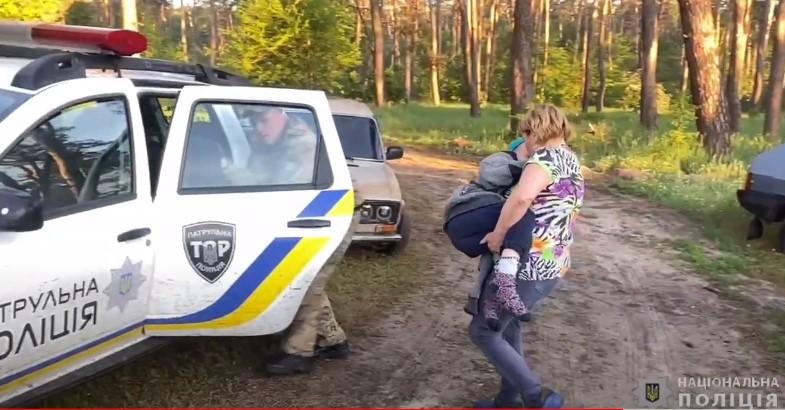 На Черкащині знайшли зниклого хлопчика: шестирічна дитина всю ніч пробула в лісі