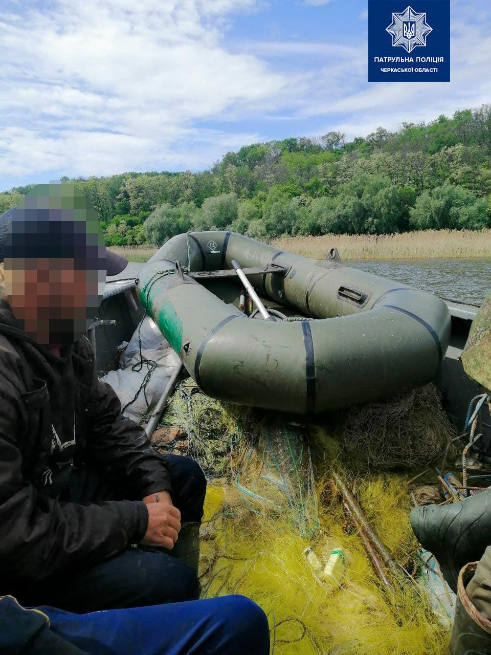 Рибалив у нерестовий період: на Чорнобаївщині спіймали браконьєра