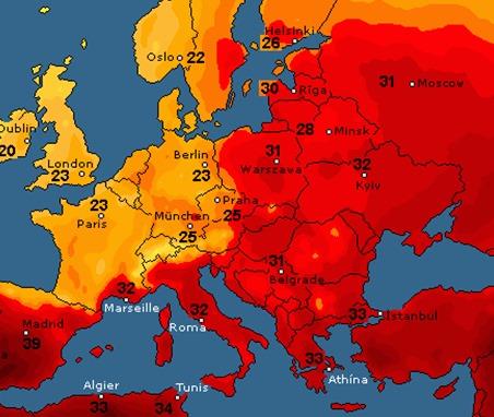 На Черкащину повертається спека