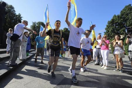 Через Черкащину проляже маршрут надмарафону до Дня Незалежності