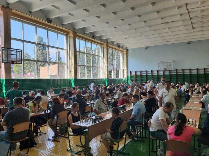 Уперше Черкаси приймають шахістів із 22 областей України