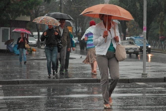 Холодна погода розташується на Черкащині